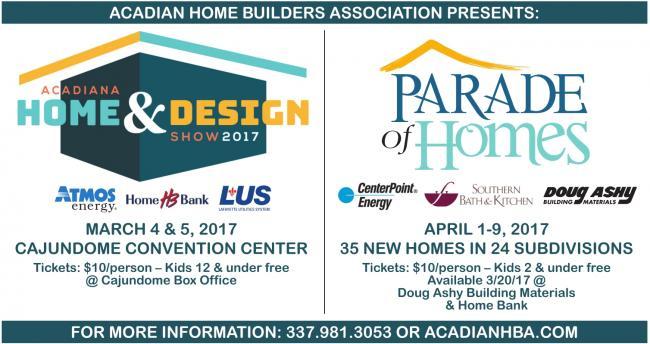 acadiana home builders association acadiana home design show - Acadiana Home Design