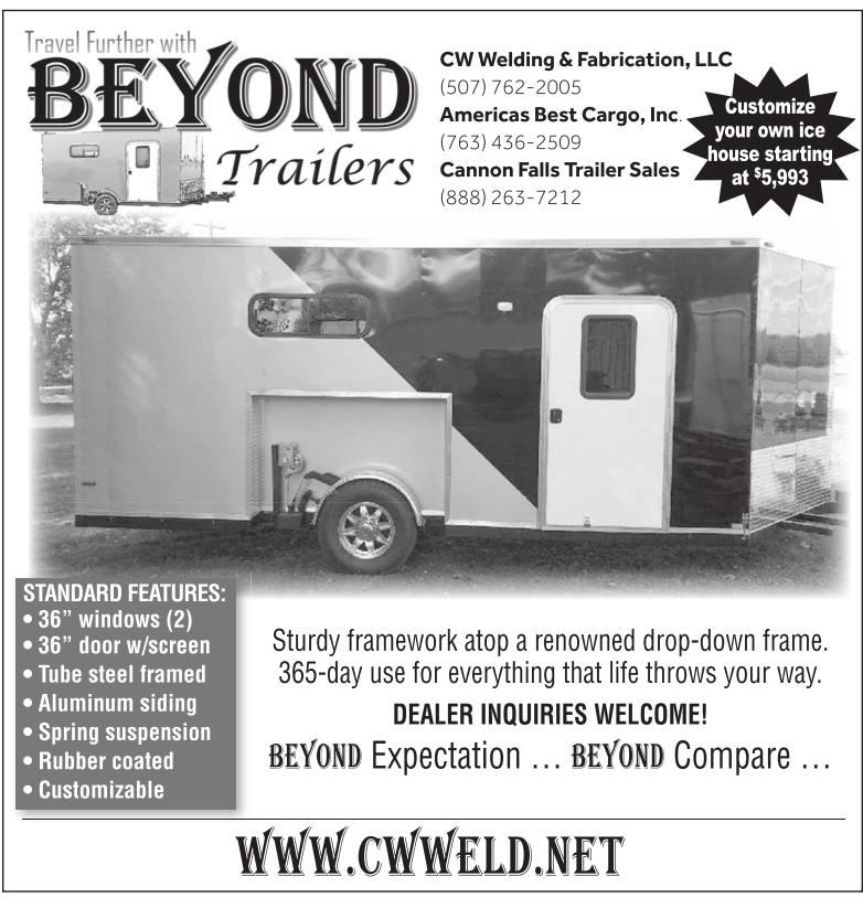 Beyond Trailers, CW Welding & Fabrication, LLC, Vesta, MN