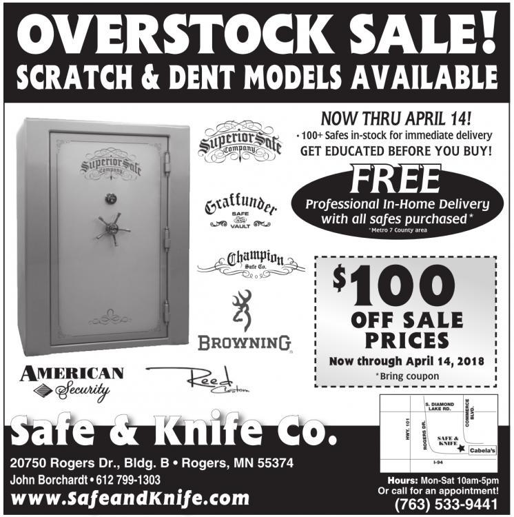 Overstock Sale Safe Knife Co Rogers MN