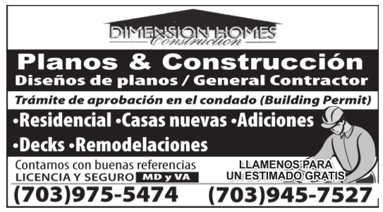 planos y construcción dimension homes construction alexandria va