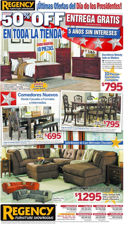 50% Off en toda la Tienda, Regency Furniture Showrooms, Woodbridge, VA