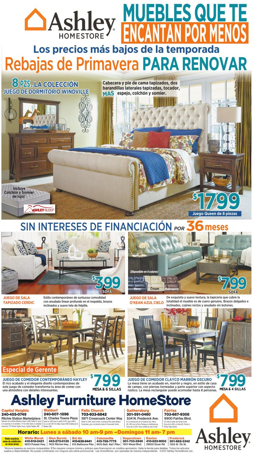 Muebles Que Te Encantan Por Menos, Ashley Furniture HomeStore, Frederick, MD