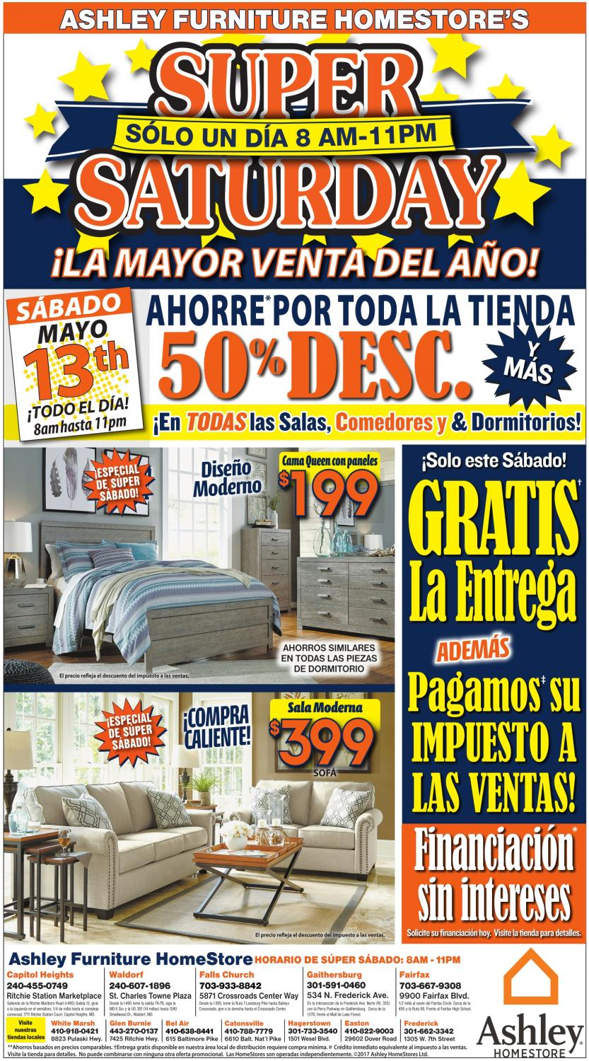 La Mayor Venta Del Año Ashley Furniture Home Frederick Md