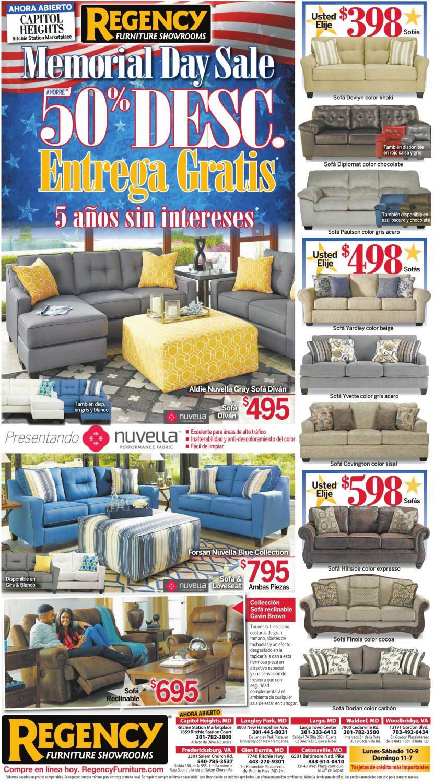 Day Sale, Regency Furniture Showrooms, Woodbridge, VA