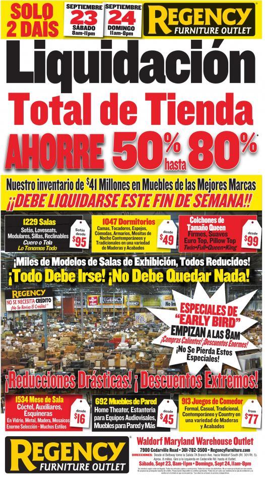 Total De Tienda, Regency Furniture Showrooms, Woodbridge, VA