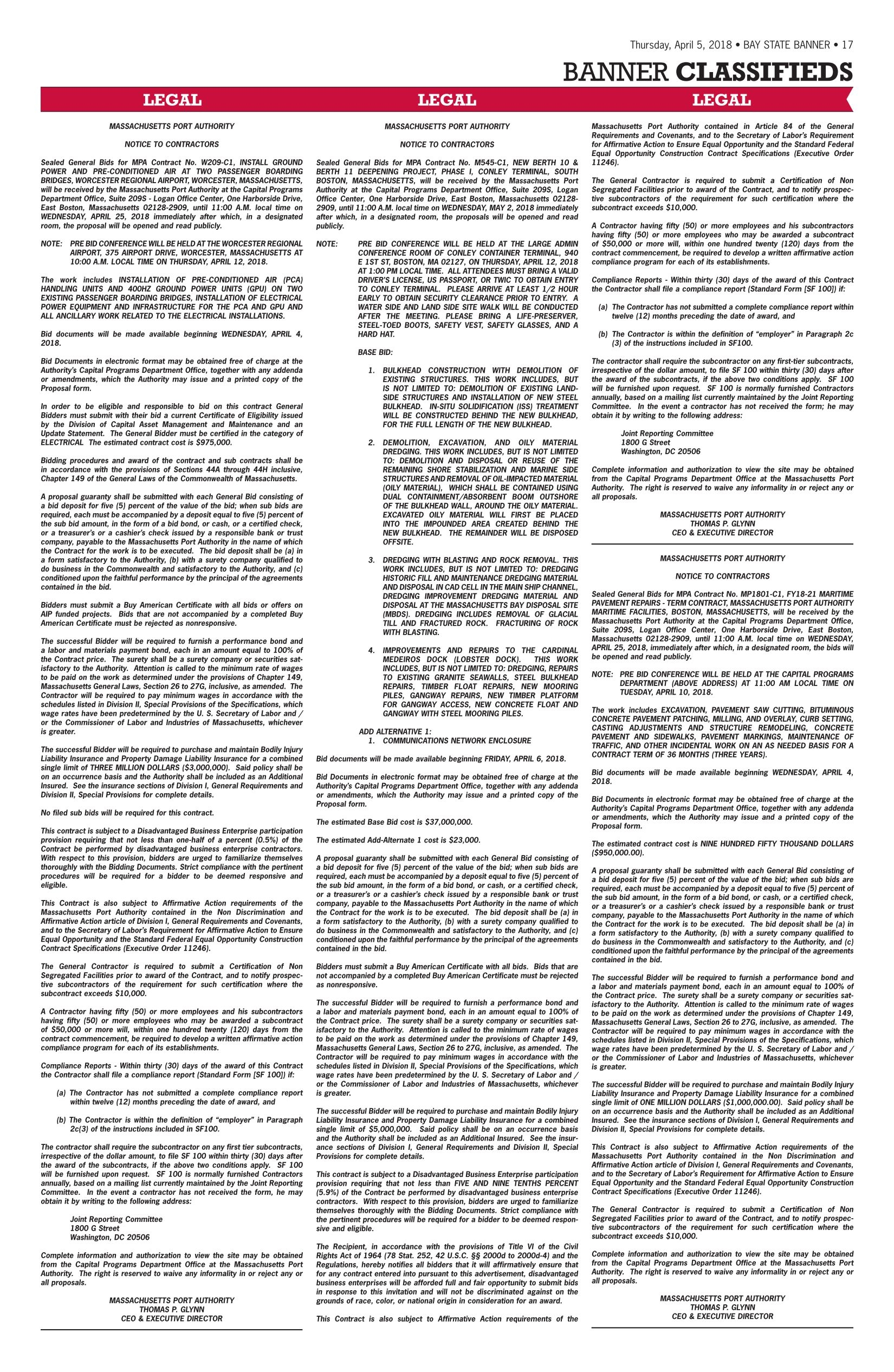 The Bay State Banner, 04-05-2018 - Page 17